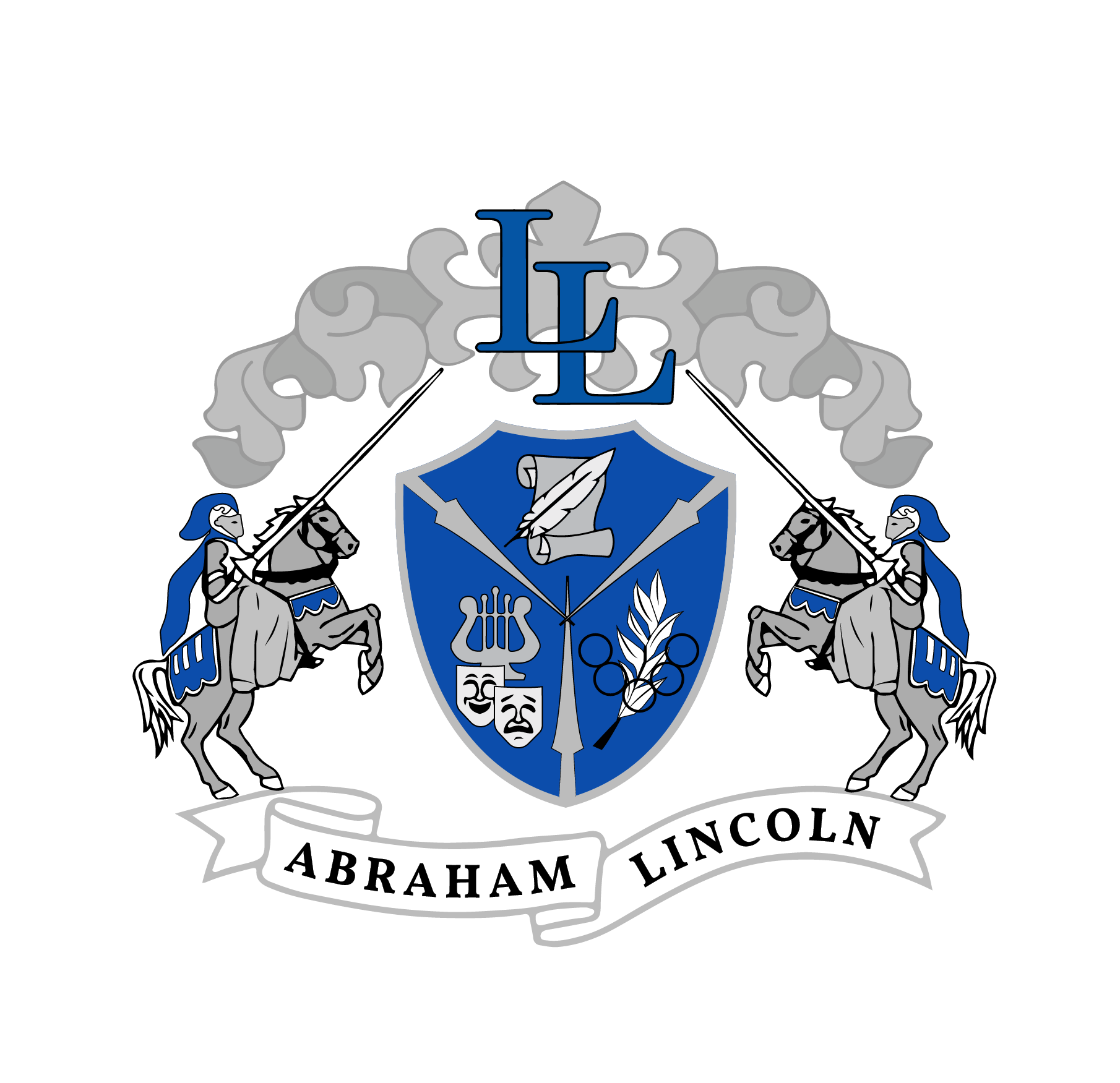 Abraham Lincoln High School Crest
